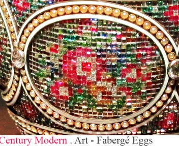 Carl Fabergé and the legendary Fabergé eggs. Known for the famous eggs made in the style of genuine Easter eggs, but using precious metals and gemstones.