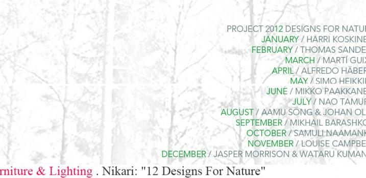 """Nikari: """"12 Designs For Nature"""""""
