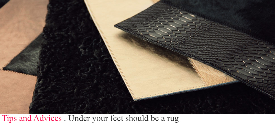 Under your feet should be a rug slider2
