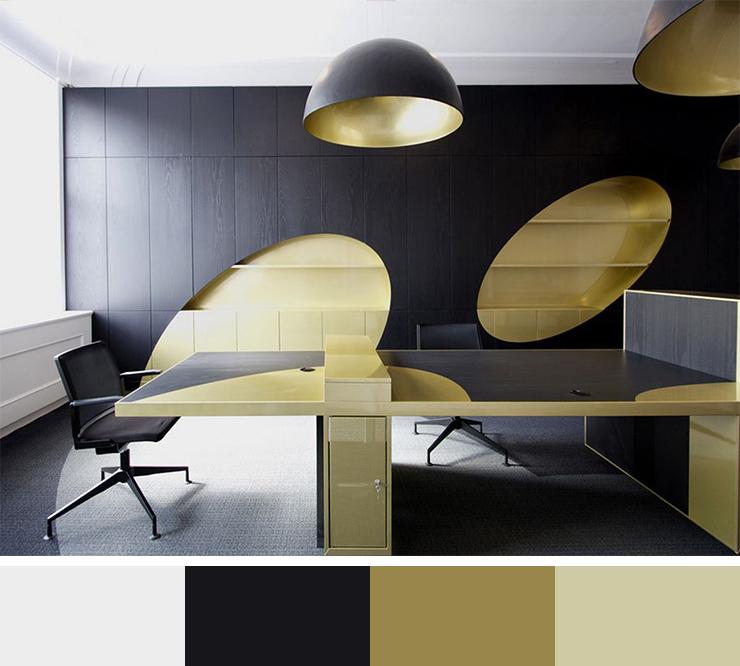 Perfect Modern Office Color Scheme Home Design 443 30 Inspirational Interior Schemes