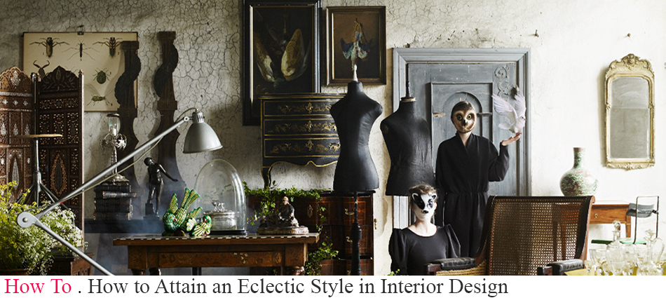 The eclectic style is about making different styles work cohesively. With an eclectic mix one can simply overcome a stylistic stagnation and easily innovate and suit the interior to the needs and personalities of their owners. eclectic style in interior design How to Attain an Eclectic Style in Interior Design SLIDE