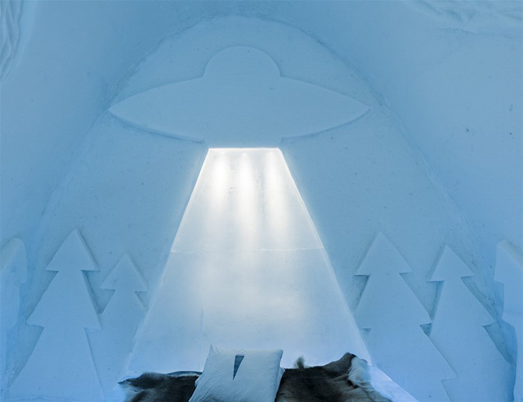 New Materials . Ice as an Architectural Material  Ice as an Architectural Material ice hotel sweden new materials details 11