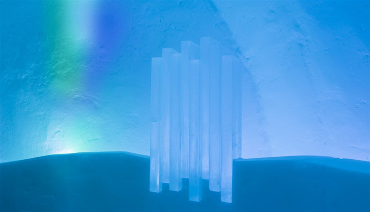 New Materials . Ice as an Architectural Material  Ice as an Architectural Material ice hotel sweden new materials details 18