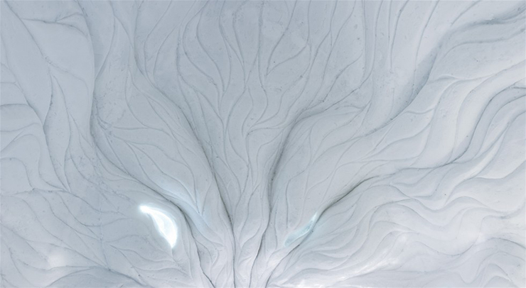 New Materials . Ice as an Architectural Material  Ice as an Architectural Material ice hotel sweden new materials details 4