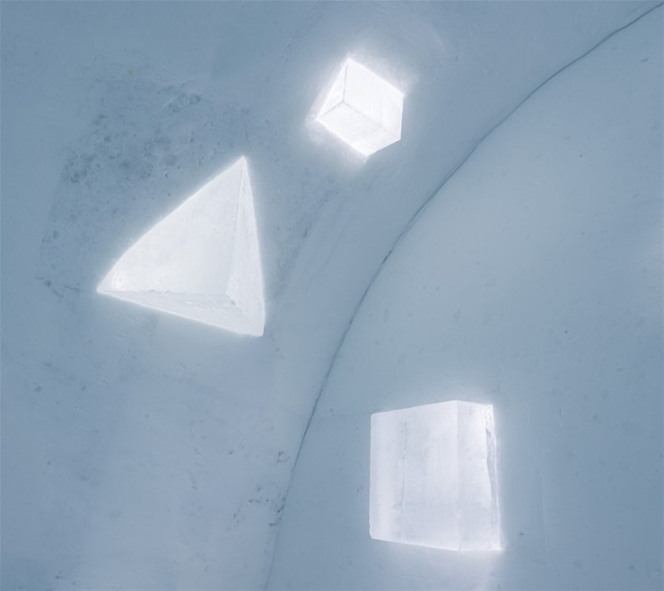 New Materials . Ice as an Architectural Material  Ice as an Architectural Material ice hotel sweden new materials details 5