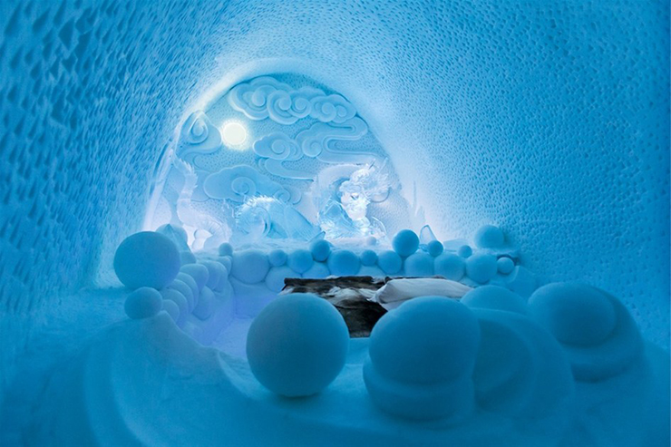 ice hotel sweden new materials suite (2)  Ice as an Architectural Material ice hotel sweden new materials suite 2