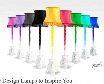 20 Lamps Designs to Inspire You