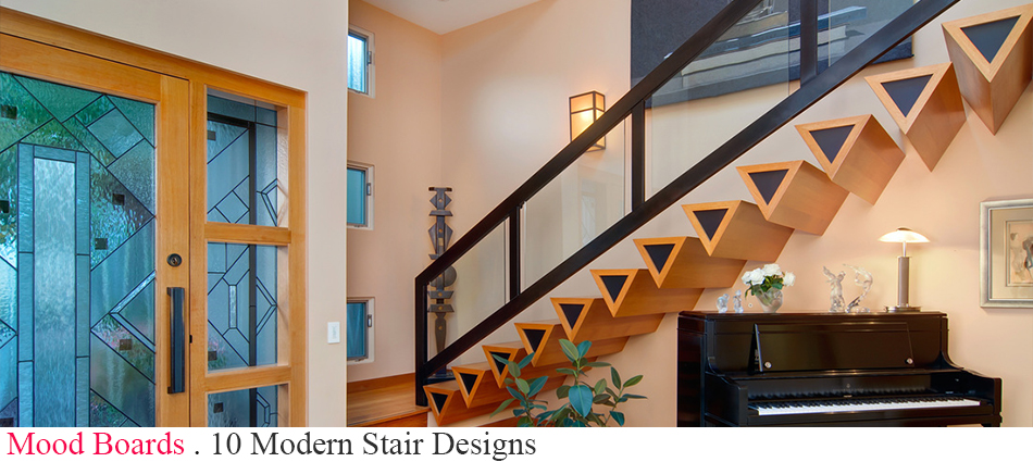 Looking for some stair ideias for your next project? We have gathered 10 of the best modern staircase designs out there. Enjoy.  10 Modern Stair Designs slider2