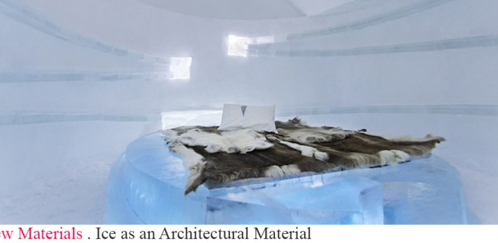 Ice as an Architectural Material