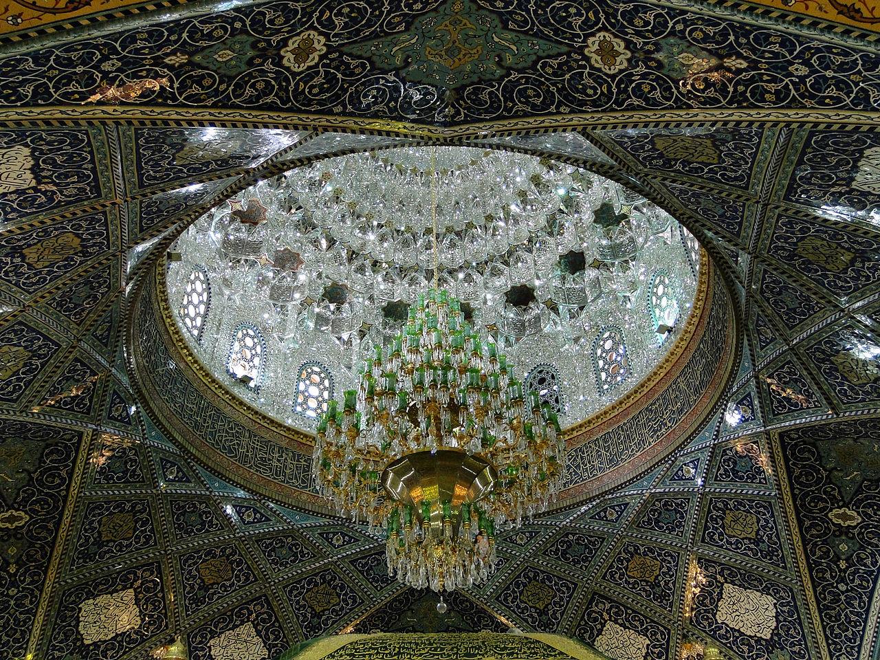 1280px-Sayyidah_Ruqayya_Mosque_-_Chandelier_02  Mood board: 50 Exuberant Chandeliers 1280px Sayyidah Ruqayya Mosque   Chandelier 02