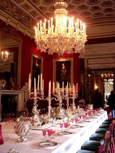 3998247-Chatsworth_House_Interior_Matlock  Mood board: 50 Exuberant Chandeliers 3998247 Chatsworth House Interior Matlock