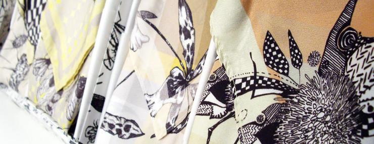 Craig Fellows  Award winning fabrics for interior design. Craig Fellows textile fine art