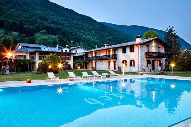 Hotel Ai Cadelach Pool  Hotel Ai Cadelach Hotel Ai Cadelach 1