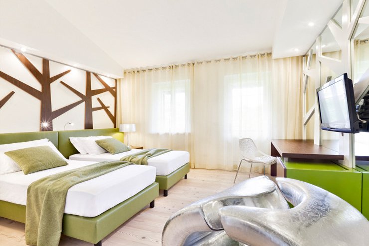 Hotel Ai Cadelach Bedroom  Hotel Ai Cadelach Hotel Ai Cadelach 9