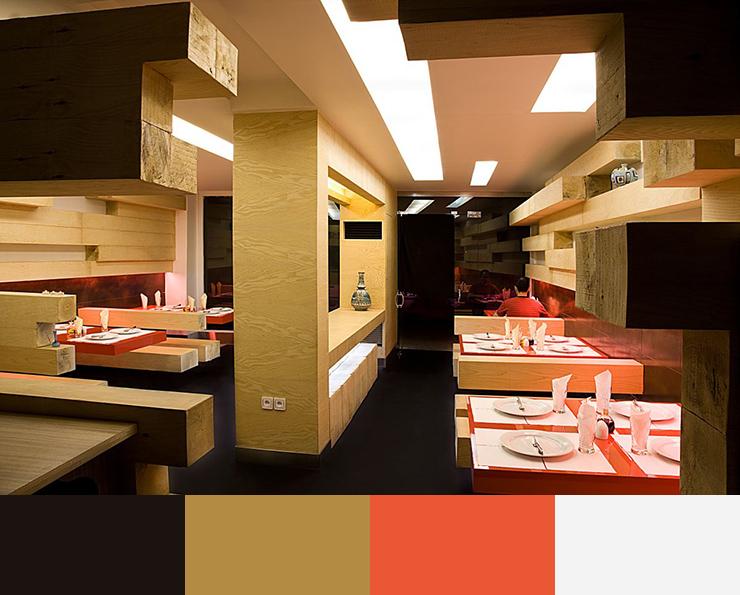 Amazing Restaurant Interior Design Color Scheme Colour Schemes Discover