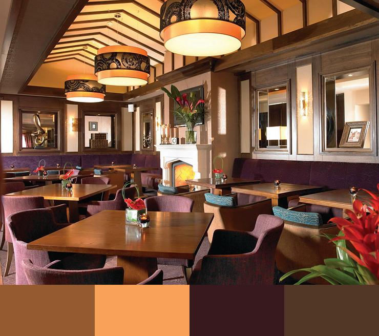 Fantastic Restaurant Interior Design Ideas Color Scheme