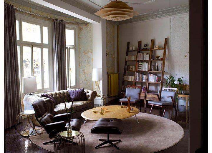 mid century modern eclectic interior design living room vintage vintage interior design Vintage Interior Design: The Nostalgic Style 945460 592769040755210 475797942 n