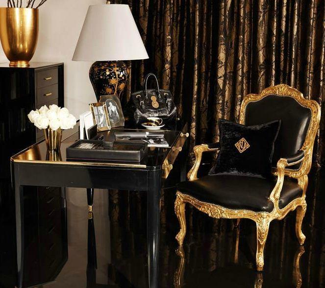 Gold White Interior Design: Gold And Interior Design: A Timeless Statement