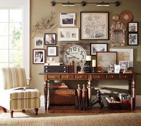 Vintagewallclockininterior Design Vintage Interior