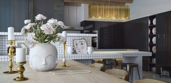 Apartment Interior Design by Leks Architects