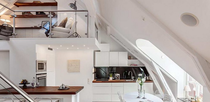Decorating your attic to get more space