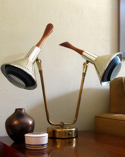 moodboard vintage light fixture