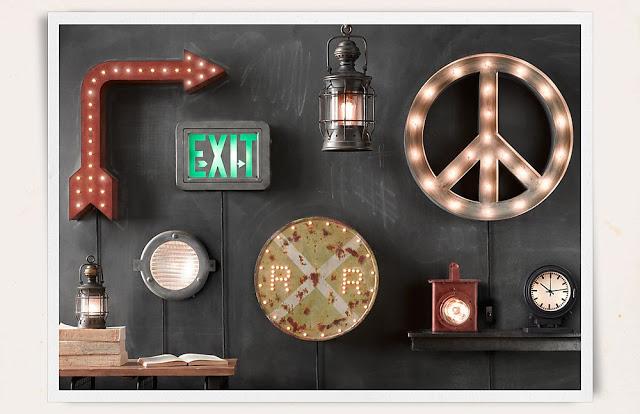 Mood Board 25 Vintage Lamps