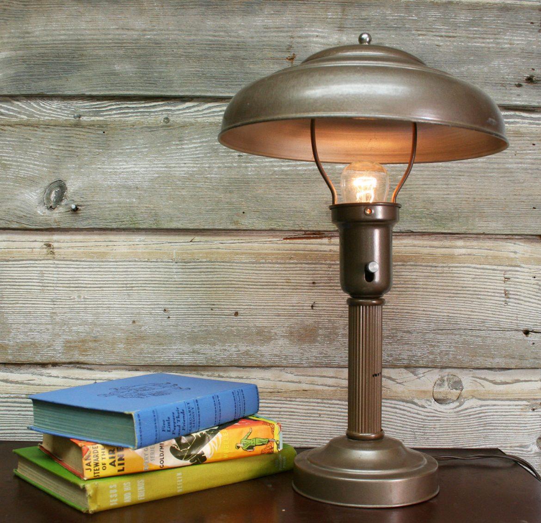 Vintage Lamps mood board steampunk