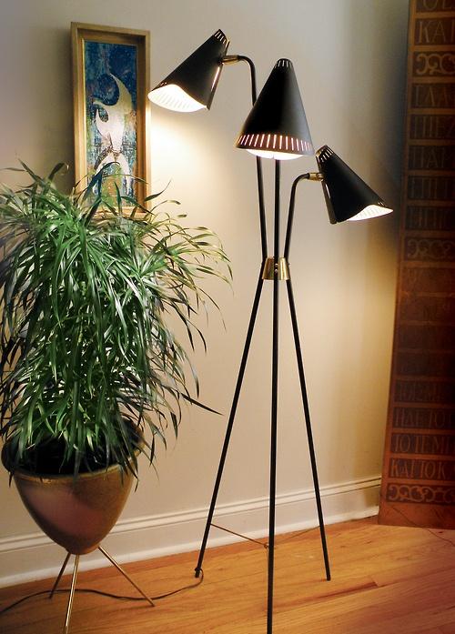 Vintage Lamps mood board