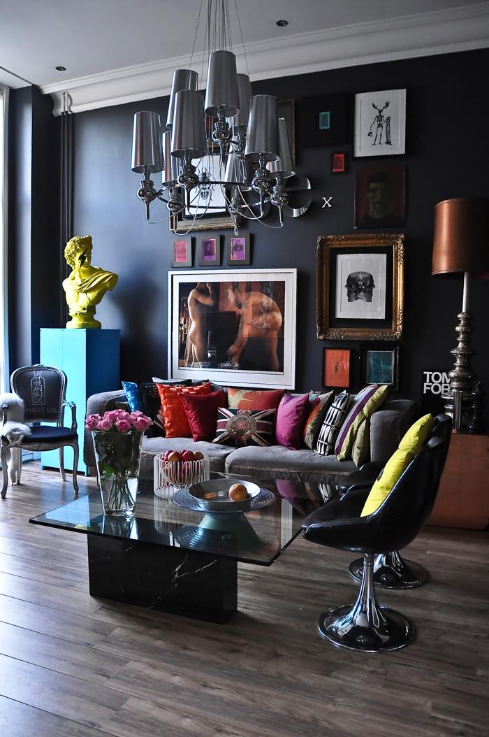 Jimmie_3_Karlsson_s_London_home  Interior Design Coloring: Special Effects Jimmie 3 Karlsson s London home