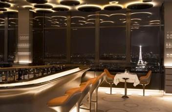 The Futuristic Ciel de Paris Restaurant
