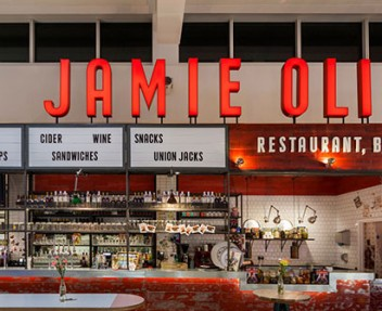 Award Winning Restaurants: Jamie Oliver at Gatwick Airport