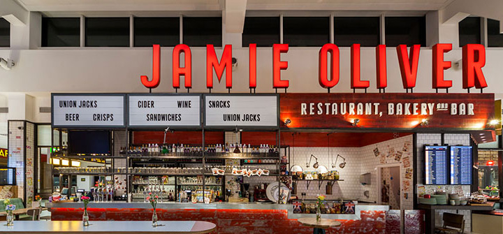 Award Winning Restaurants: Jamie Oliver at Gatwick Airport Blacksheep Jamies Gatwick slide
