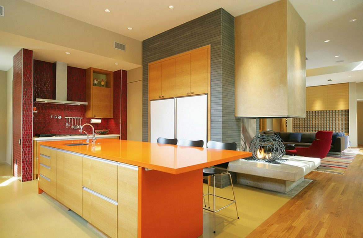How to: 10 Things You Should Know About Before Coloring Your Kitchen kitchen color ideas red orange