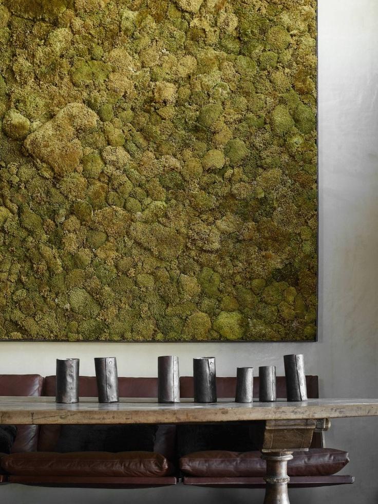 rustic interior design moss wall cozy rustic inspired interiors 20 Cozy Rustic Inspired Interiors rustic interior design moss wall