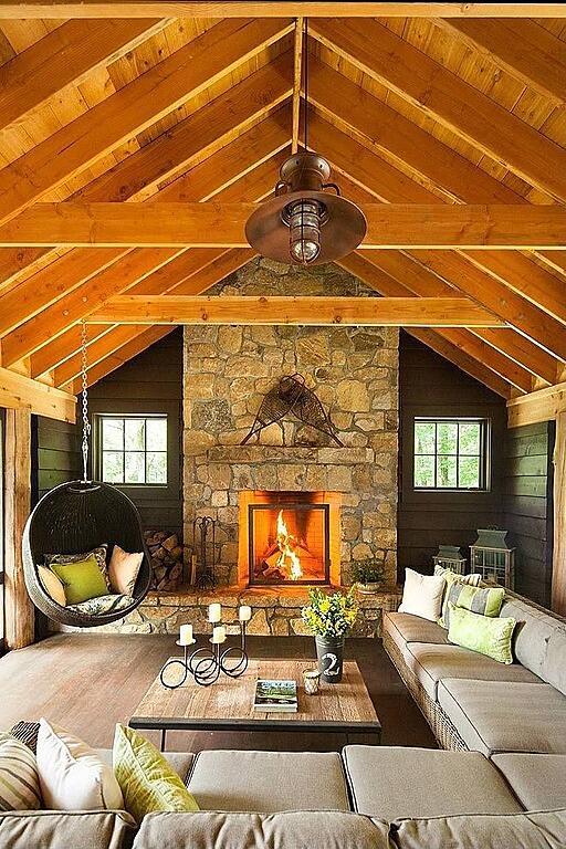 Rustic Interior Design Wooden Ceiling Rustic Interior