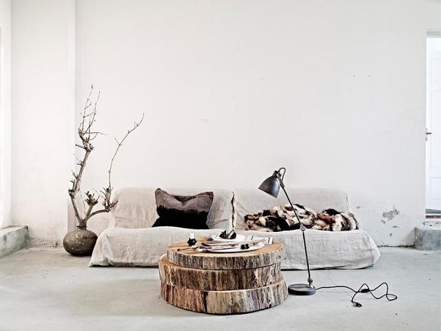 20 Cozy Rustic Inspired Interiors cozy rustic inspired interiors 20 Cozy Rustic Inspired Interiors rustic interior wooden table draumesider olsson jensen