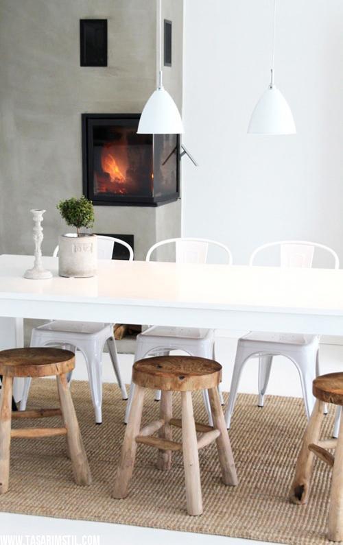 rustic wooden stools somine-modelleri-4 cozy rustic inspired interiors 20 Cozy Rustic Inspired Interiors rustic wooden stools somine modelleri 4