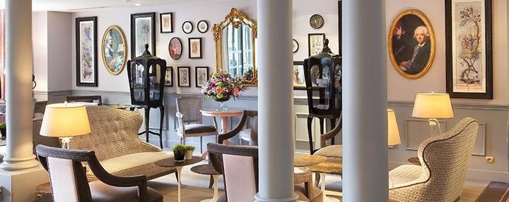 hotal la maison favart interior luxury