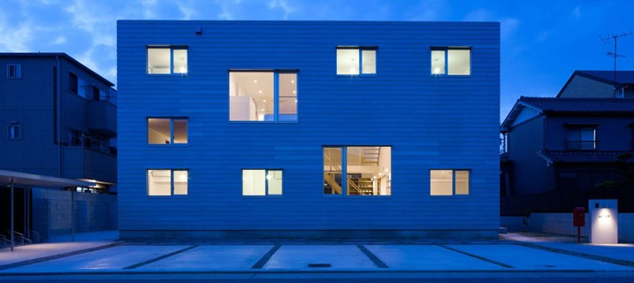 Japanese Share House LT Josai by Naruse Inokuma Architects