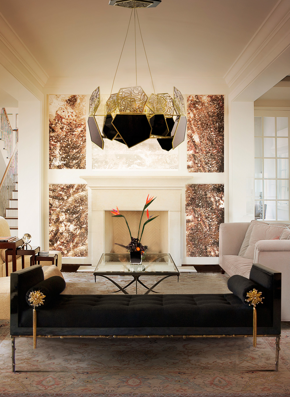 Glamour Interior Style Koket Textiles  TOP 10 MODERN GLAMOUR STYLE GUIDELINES ambiente prive