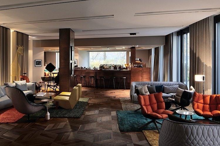 Colorful interior design by patricia urquiola design in for Designhotel berlin