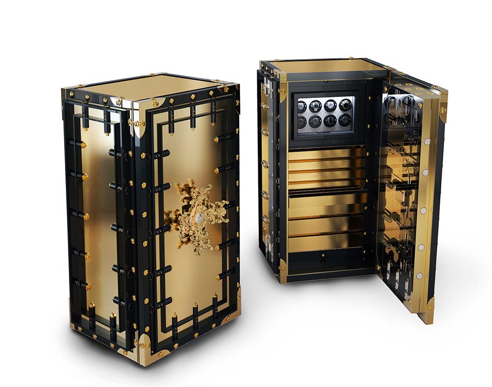 know luxury safe boca do lobo  Luxury Home Safe - Knox by Boca do Lobo KNOX 03