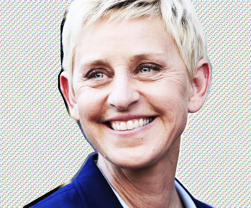 ellen degeneres  Ellen DeGeneres Launching Design Reality Show poster p ellen d