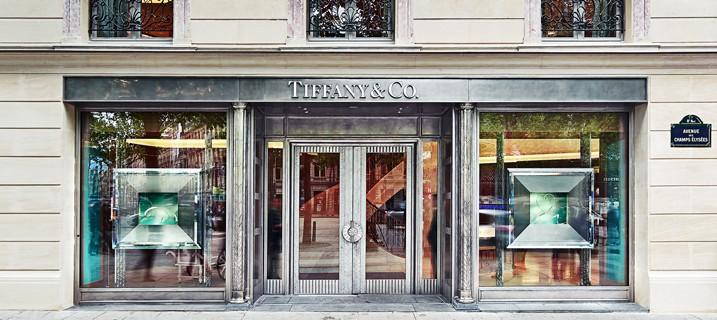 Tiffany & Co's new Flagship Store at Champs-Élysées