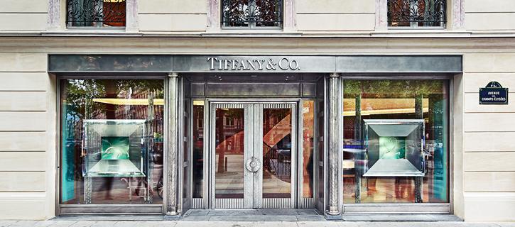 Tiffany & Co's new Flagship Store at Champs-Élysées tiffany co slide