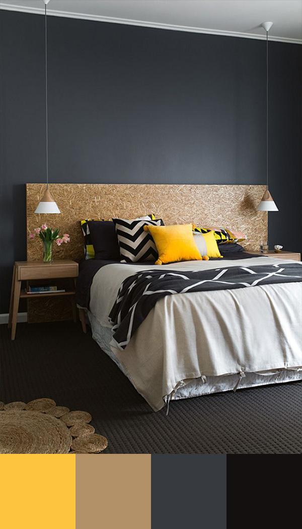 10 perfect bedroom interior design color schemes design for Interior design grey colour scheme