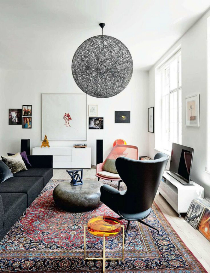Decorate your spaces with modern rugs (3)