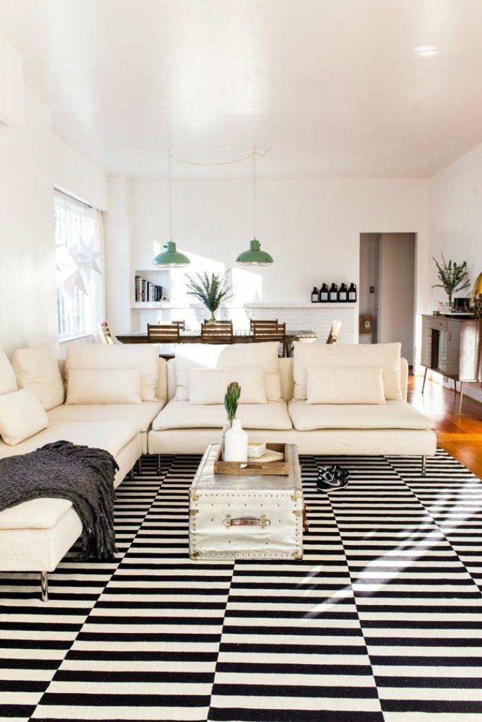 Decorate your spaces with modern rugs (6)
