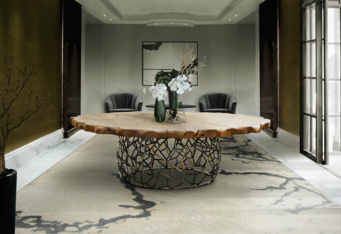 Decorate your spaces with modern rugs